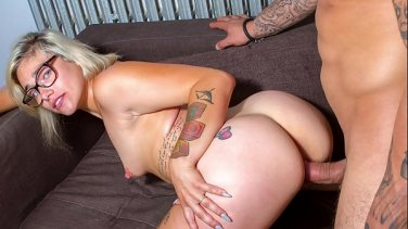 Seduce german stepmom stepson to fuck her anal when dad away