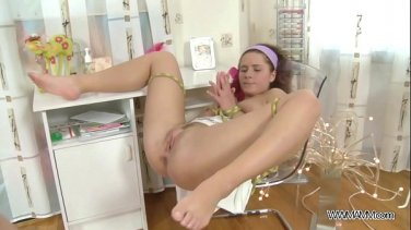 Skinny slut fuck on the railway in the country