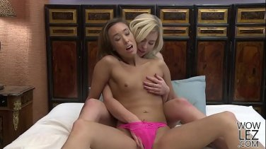christy and capri explore each others bodies
