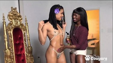 reena sky makes judy jolies pussy wet on the massage table