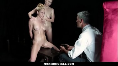 Crazy lesbian BDSM with strapon