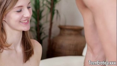 Young blonde gets her pussy banged by old man