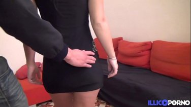 Big tit brunette double anal with charlee chase